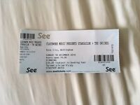 Starsailor spare single ticket 18 December rock city, Nottingham