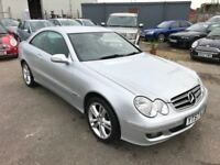 Mercedes Benz Clk 2.2 Cdi Avantgarde Auto, Low Mileage *Leather* Fsh, Air Con, 3 Month Warranty