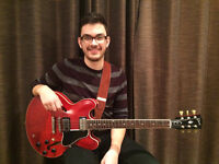 Guitar Lessons from a Professional at an affordable Price!