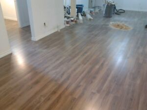 Hardwood from 1.50sqf  and laminate 1.20sqf installation Edmonton Edmonton Area image 2