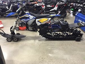 2015 Husaberg/Timbersled Snowbike ST137 ONLY $15,800