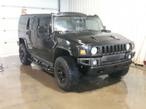 HUMMER H2-Blacked out, Supercharged