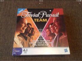 TEAM Trivial Pursuit NEW