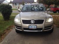2004 Volkswagen Touareg fully loaded
