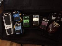 Gator Mega Bone Pedal Board Boss Pedals killer set up