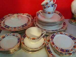 Set de vaiselle antique Staffordshire