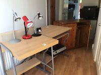 Desks for computers.