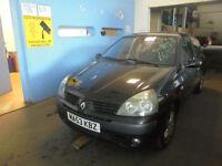 Renault Clio 1.2 16v Dynamique 3 DOOR - 2004 53-REG - 8 MONTHS MOT
