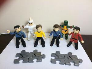 "Star Trek ""Mini Mates"" (2002) - full set (6) - perfect condition"
