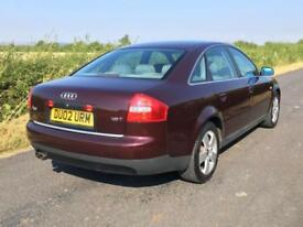 02 Audi A6 Saloon 1.8 T Sport Low Mileage FSH Exceptional Example