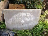 FREE ballast & sharp sand & concrete slabs