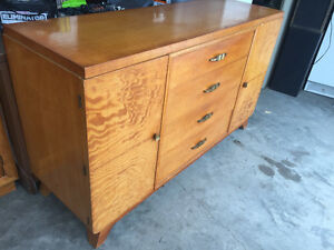 Sale Pending - Beautiful Solid Wood Side Board - Knechtel