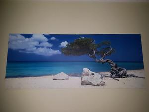 Photo on canvas (beach photo)
