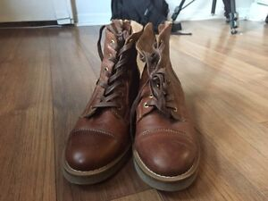 Leather boots for sale!