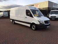 Own this van for £8.28 a day on finance 🚚👍🏻 January 2014 Mercedes sprinter 313cdi lwb high roof