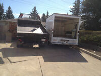 MOVING AVAILABLE WITH CUBE VAN & DUMP TRUCK 780-940-4831