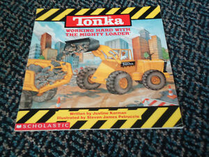 Tonka: Working Hard with the Mighty Loader Paperback