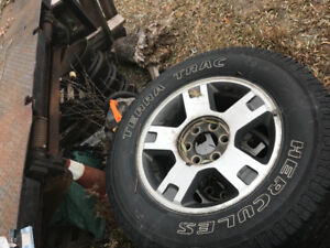 6x135 Ford F-150 rims and tires , 275/65/18