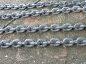 15' Galvanized Chain