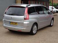 2008 08 CITROEN C4 GRAND PICASSO 1.6 EXCLUSIVE HDI EGS 5D AUTO 110 BHP DIESEL