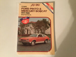 Ford Pinto and Mercury Bobcat 1971-1980 Clymer Shop Manual