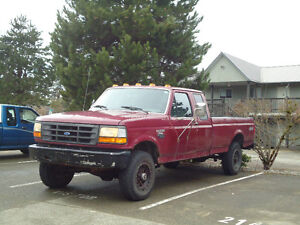 1992 Ford F-250 Super Cab Pickup Truck