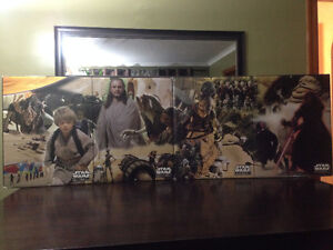 Star Wars Episode 1 For Store Only Huge Double Sided Poster!!!