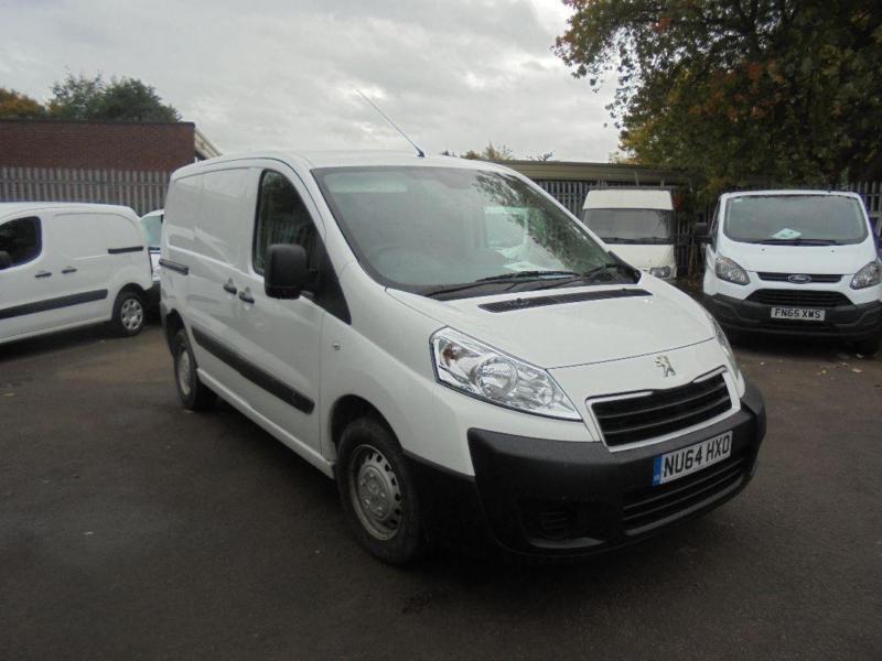 Peugeot Expert L1 1000 1.6 Hdi 90 H1 Van Swb DIESEL MANUAL WHITE (2014)