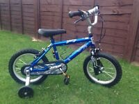 Boys dirt jumper bike