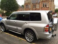 MITSUBISHI SHOGUN PAJERO 3.2 DID EXCEED 4x4 DIESEL LWB 7 SEATER AUTOMATIC PX SWAP