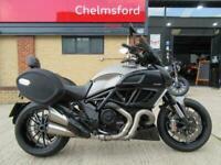 Ducati Diavel 1200 Strada 2014 Model - 17,300 MILES, FULL DESMO SERVICE + BELTS