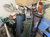 Over 40 Assorted Golf Clubs $5 Each Or $100 For All!!