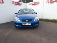 2004 54 HONDA CIVIC 1.7 CTDi SE 5 DOOR.NICE COLOUR,ANY PX WELCOME.S/HISTORY,2KEY