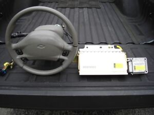 IMPALA SS  AIRBAGS and MODULE