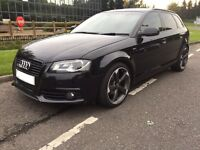 Audi A3 Sportsback DSG Facelift Black Edition s line **Top Spec**