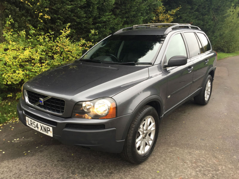 repossession part ex 54 reg volvo xc90 2 4 d5 se turbo diesel 4x4 7 seater in hockley. Black Bedroom Furniture Sets. Home Design Ideas