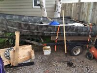 12.5 ft alum boat for sale