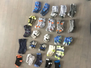 4T toddler boy clothes pjs socks jeans - like new - $20 FOR ALL