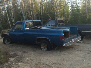 1977 Chev halfton  project $ 500