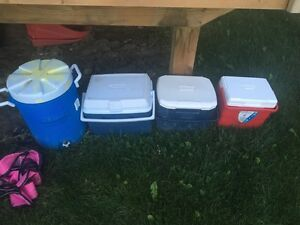 Different size coolers !