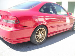 Honda civic 98 dx swap type r spec r