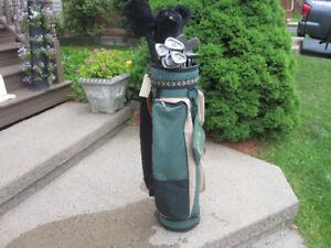 Women's Right Hand 12-pc Golf Clubs Set (Spalding Pro Impact)