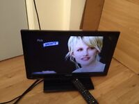 """Toshiba LCD 19DL833B - 19"""" - TV with built-in Freeview and DVD player - LED/DVD/HD/HDMI"""