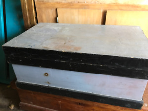 OLD WOODEN TOOL BOXES