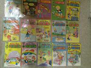 1300 issues of Richie Rich Comics $2-4 per