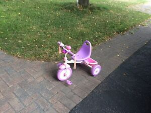 Tricycle by Radio flyer pink