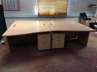 Desks and drawers job lot sale