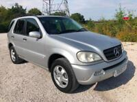 2005 MERCEDES BENZ ML350 3.7 AUTO 7 LEATHER SEATS LOW 105K FULL HISTORY PX SWAPS