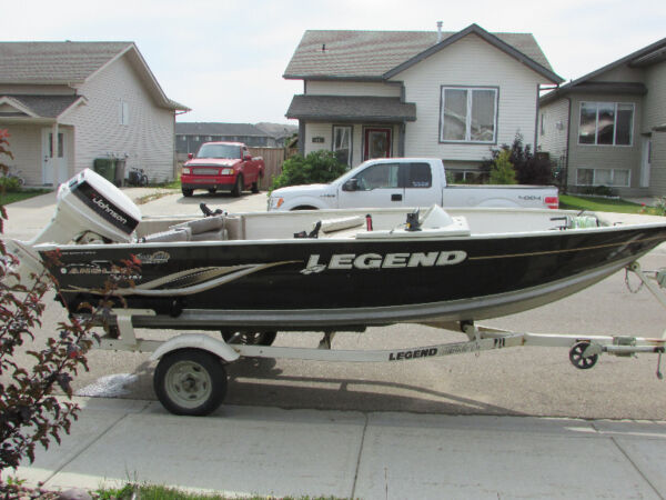 Used 2008 Legend Boats v-151 angler