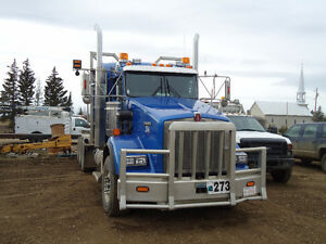 Log truck and trailers for sale
